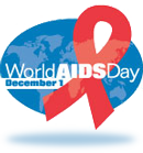 World AIDS Day badge