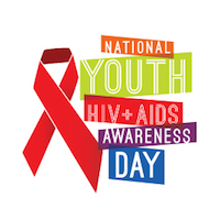 National Youth HIV and AIDS Awareness Day Badge
