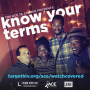 """Know your terms"" social media image"