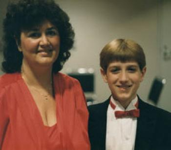 Jeanne White Ginder and Ryan White