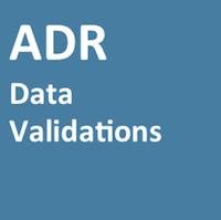 ADR Data Validations