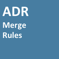 ADR Merge Rules