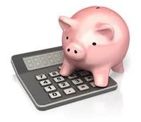 Pig on Calculator