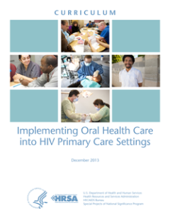 Oral Health Curriculum Cover