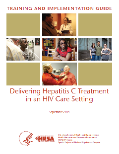 delivering hepatitis c treatment in an hiv care setting cover