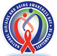 Logo: National HIV Aging Awareness