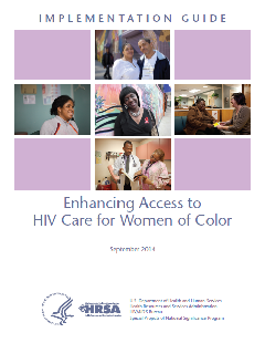Enhancing Access to HIV Care for Women of Color Cover