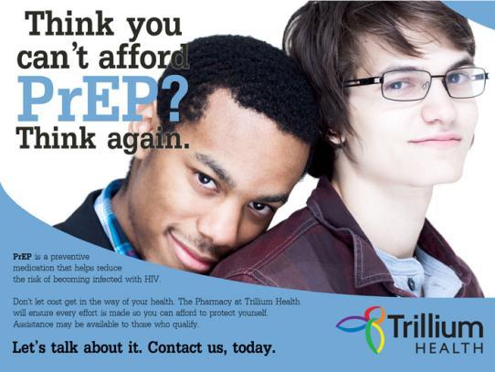 Trillium's Prep ad
